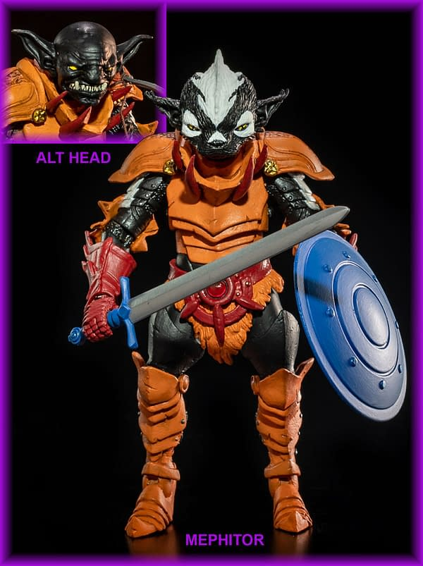 Mythic Legions All-Stars 4 Includes Two MOTU Homage Figures