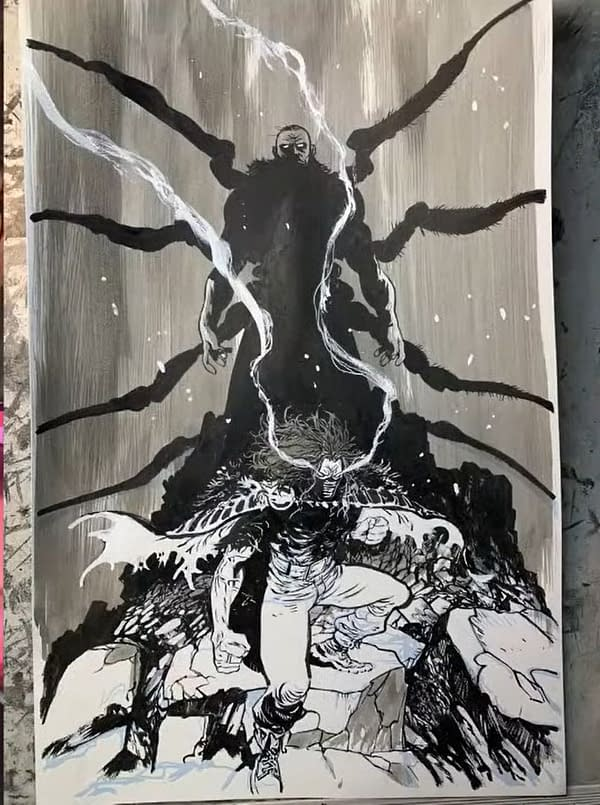 Ryan Stegman and Donny Cates Announce New Comic, Vanish