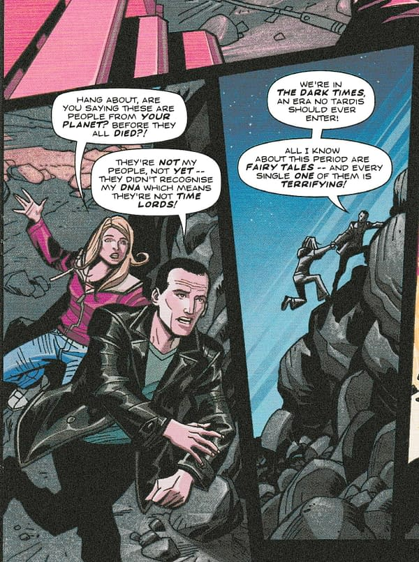 The Ninth Doctor Joins Time Lord Victorious in Doctor Who Magazine
