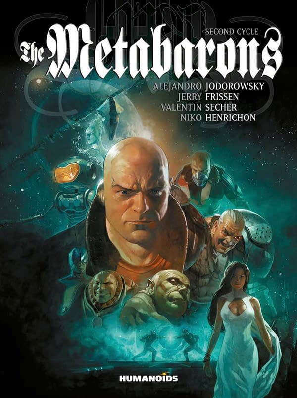 The Metabarons: Second Cycle, portada alternativa