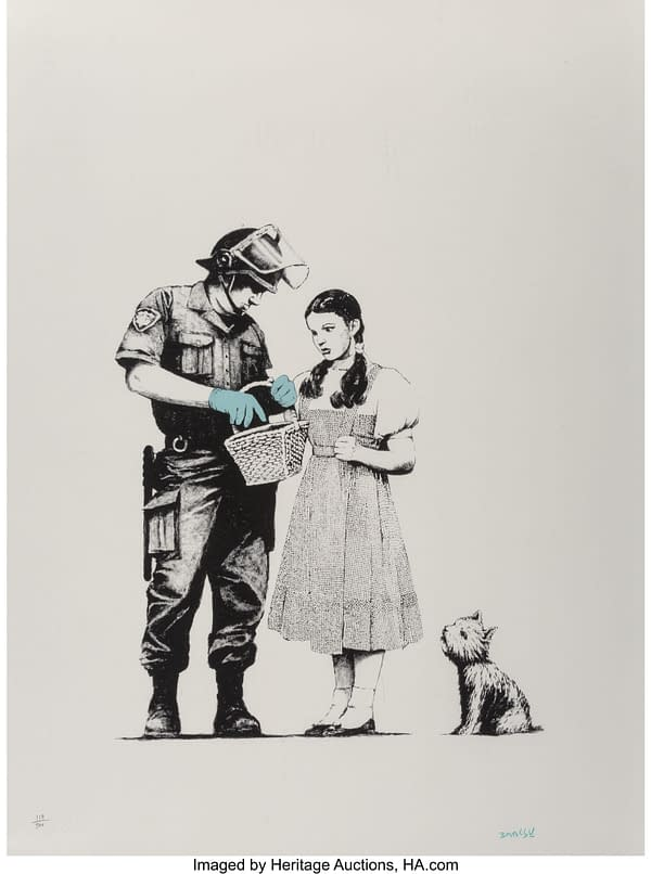 Banksy Goes To Auction