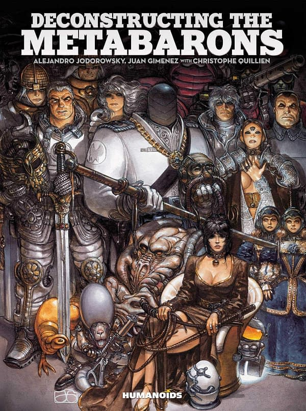 Deconstructing The Metabarons cover. Credit: Humanoids