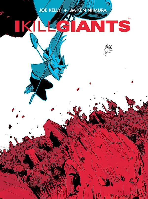 Man of Action's Joe Kelly - IKillGiants5thAnniversaryTP-Cover
