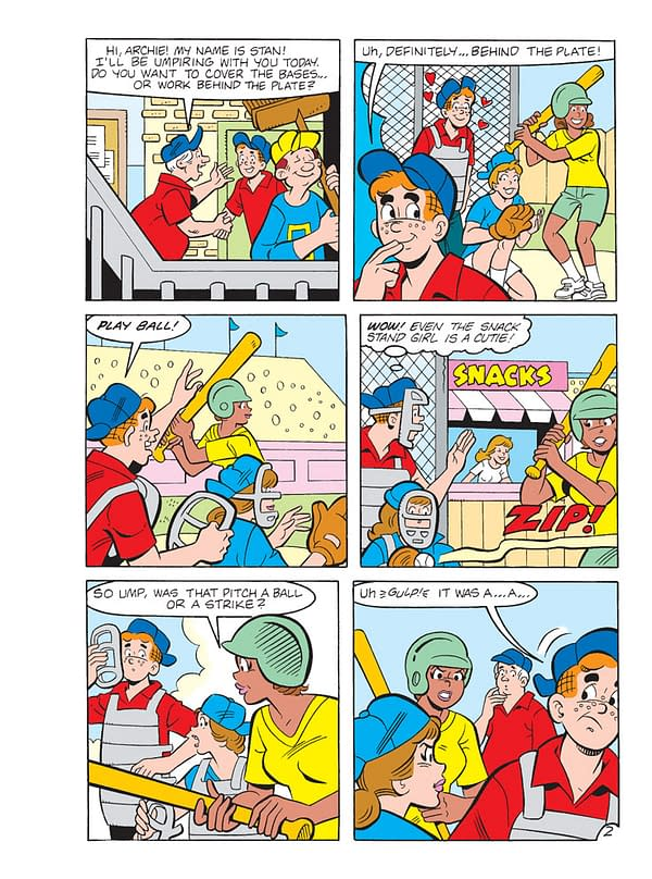 Previews of All Archie Comics Hitting Stores This Week (Which is Actually Just Archie Jumbo Comics Digest #291)