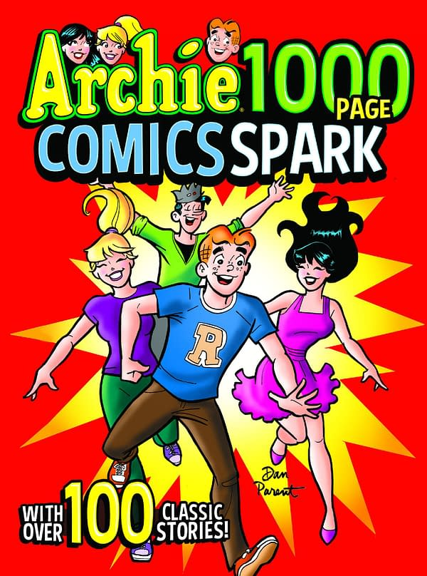 The cover of Archie 1000 Page Comics Spark Trade Paperback.