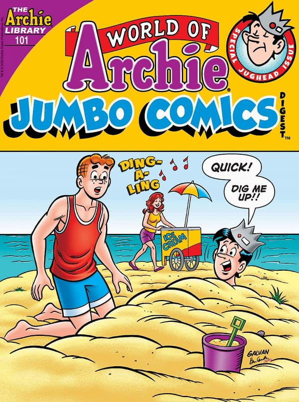 The cover of World of Archie Jumbo Comics Digest #101.