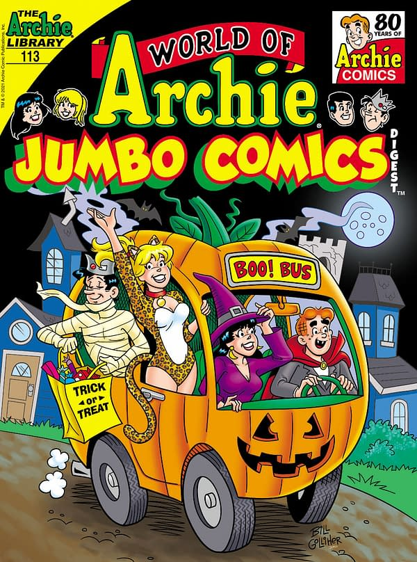 Archie Comics Full September 2021 Solicitations