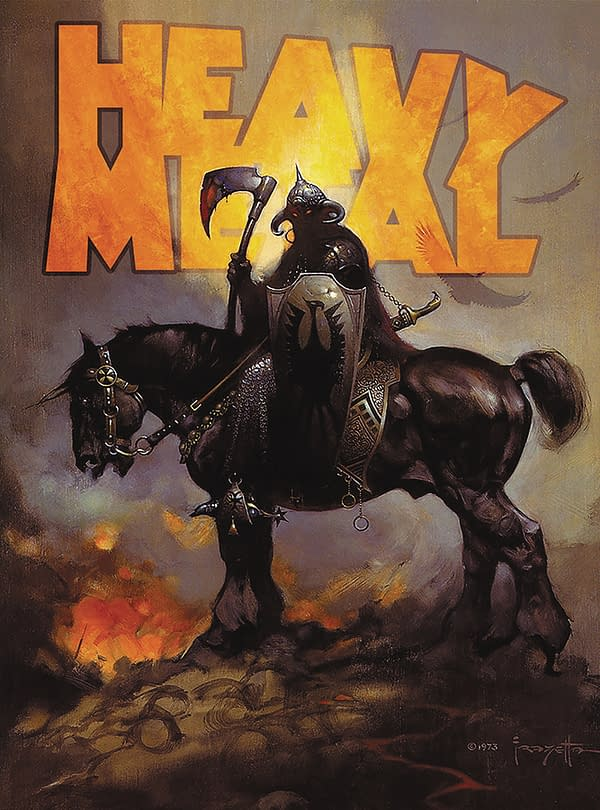 Richard Corben Returns To Heavy Metal Magazine