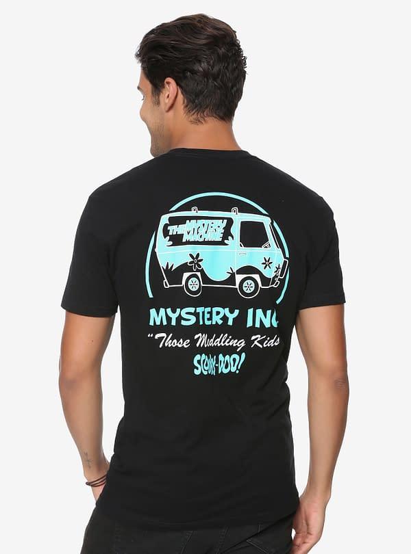 Mystery Inc Tee Back