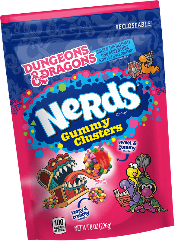 Nerds Gummy Clusters Reveals New Dungeons & Dragons Packaging