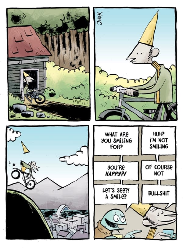 """A """"Classic"""" Strip Mixing Light and Dark: Dunce"""