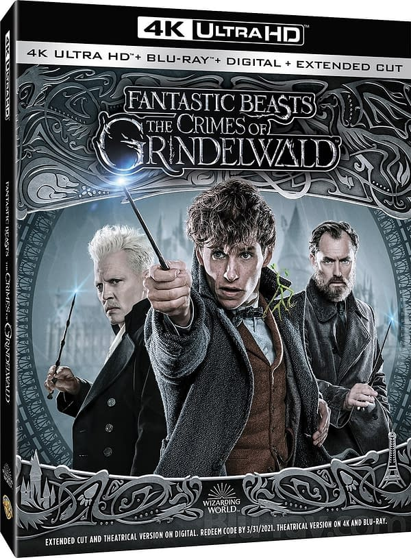 Heres What We're Getting on 'Fantastic Beasts: The Crimes of Grindelwald' 4K, Blu-Ray