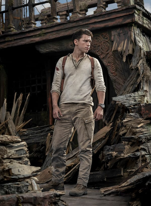 Sony Pictures Shares 4 New Images from Uncharted