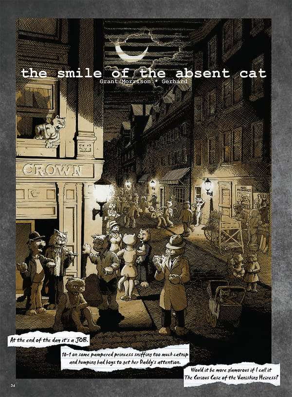 Grant Morrison and Gerhard's Absent Cat, Collected
