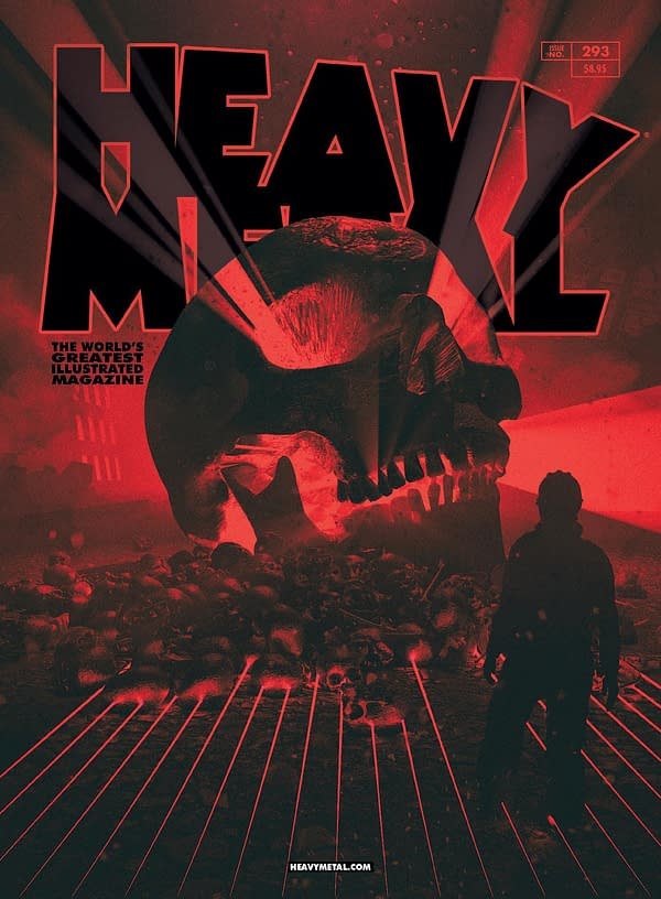 Tim Seeley Appointed as Managing Editor of Heavy Metal Magazine, Overseeing Creative and Editorial Staff