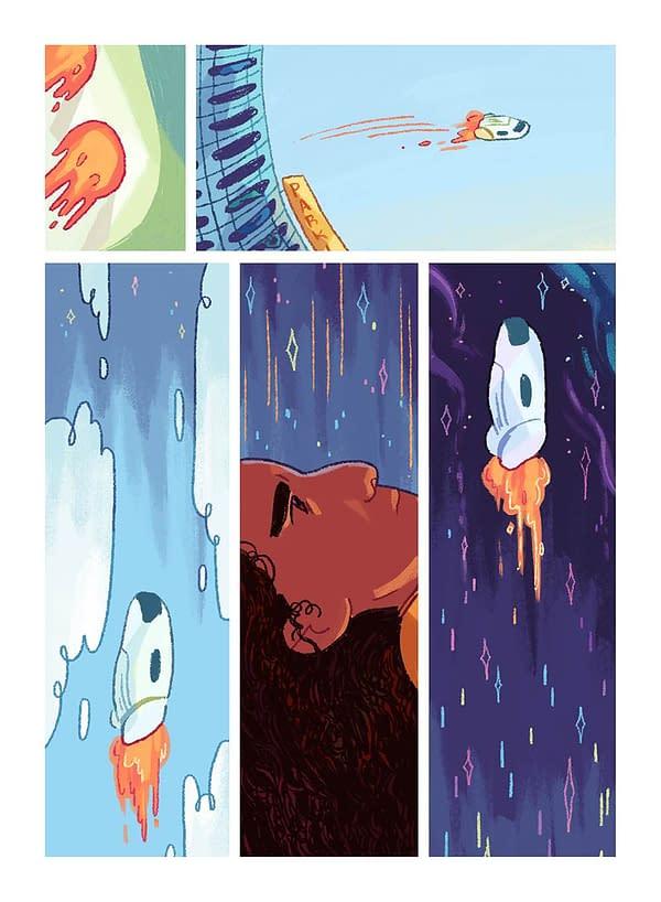 smallness – Ashanti Forston's Introspective Journey Through Space, Debuting at SPX