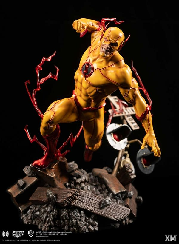 Reverse Flash Speeds Into XM Studios With New DC Rebirth Statue