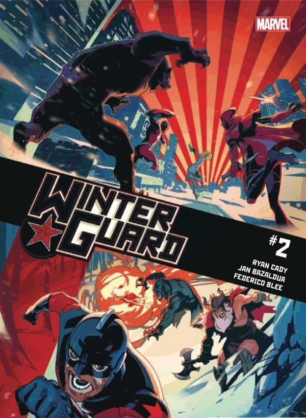 Winter Guard #2 Review: A Lot To Like