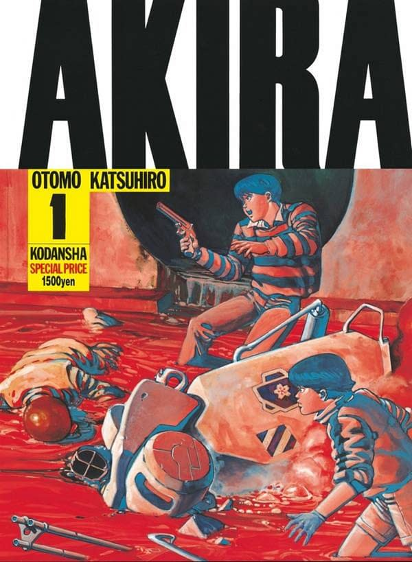 Akira Volume 1 Reaches Its 101st Printing - Still At The Same Price