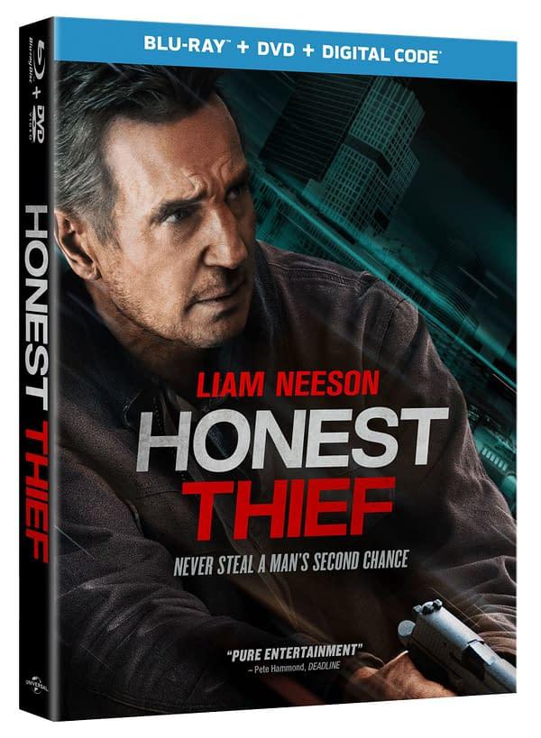 Liam Neeson Thriller Honest Thief arrive sur Blu-ray et numérique ce mois-ci
