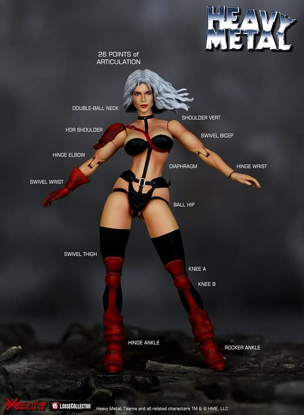 Heavy Metal Taarna and Avis Get Collectibles From Executive Replicas