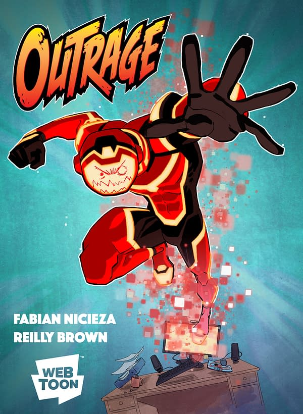 Fabian Nicieza and Reilly Brown's New Webcomic Outrage Publishes in Two Weeks' Time