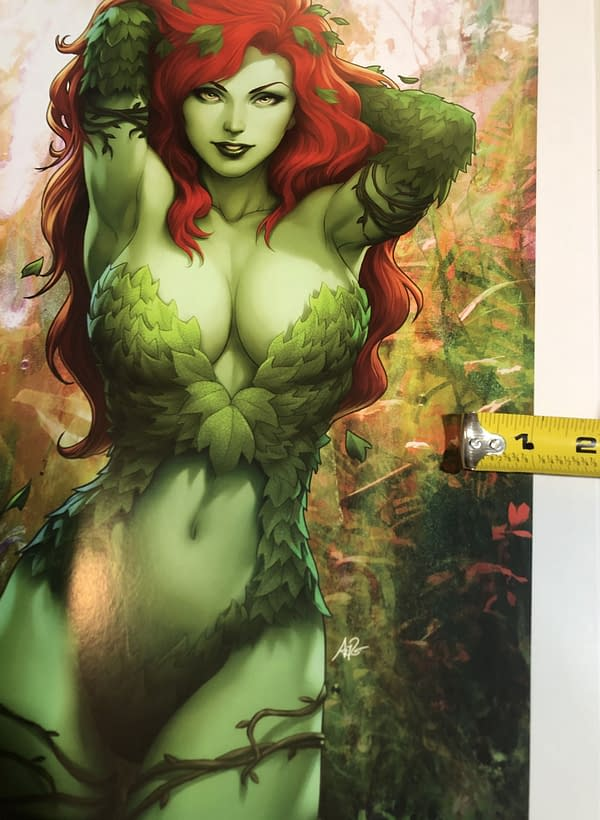 """Poison Ivy Poster 12"""" Across"""