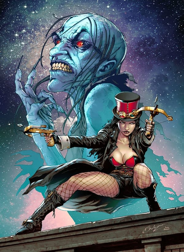 Van Helsing: Black Annis cover. Credit: Zenescope Entertainment