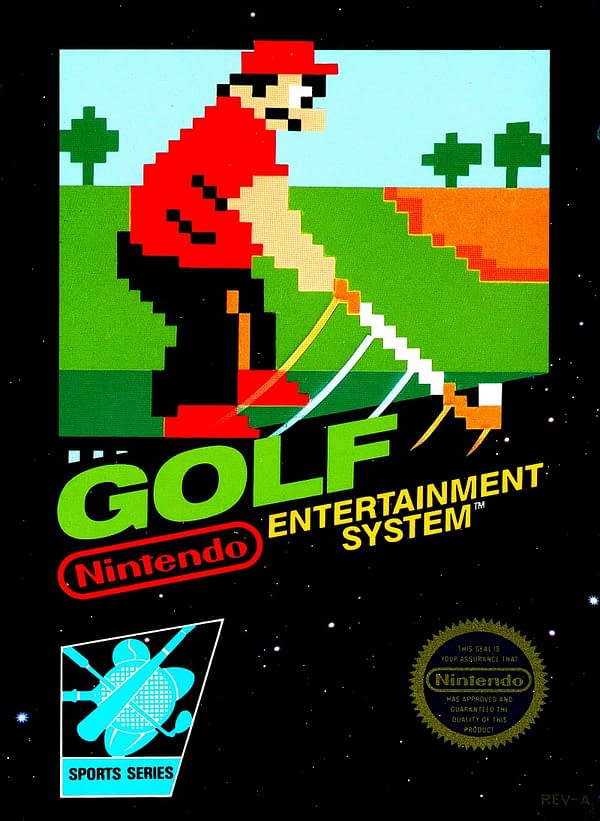 The NES Game 'Golf' Has Been Found In The Nintendo Switch