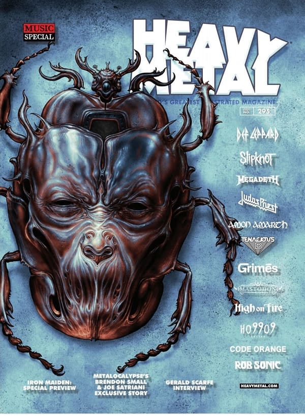 Heavy Metal CEO Jeff Krelitz Out, Senior Editor Hannah Means-Shannon Quits