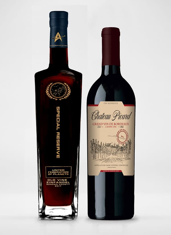 """CBS Announces Two """"Star Trek: Picard"""" Themed Wines"""
