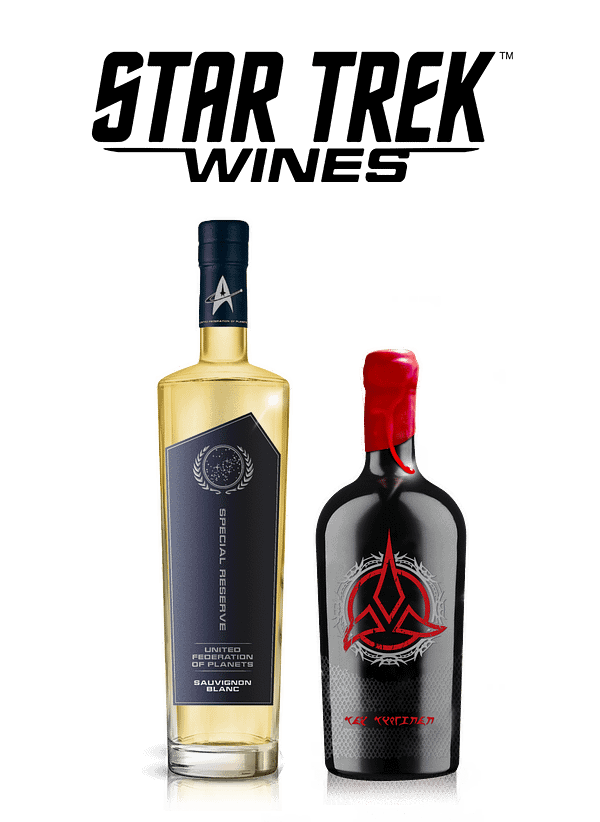 A look at the two new Star Trek wines, courtesy of Wines That Rock.