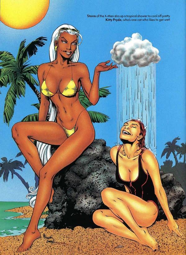 Warren Ellis Remembers When Marvel Illustrated Swimsuit Went Gay