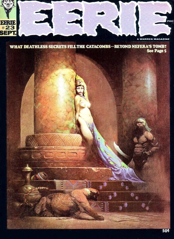 Frank Frazetta's Cover For Eerie #23 Sells For $5,400,000, Smashing Previous Records