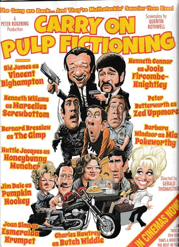 Viz Comic Asks... What if the Carry On Team Had Make Pulp Fiction?