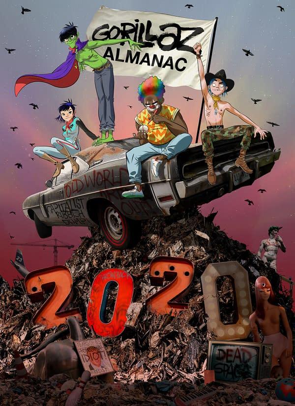 Gorillaz Finally Get Their Own Comics in Gorillaz Almanac Annual.