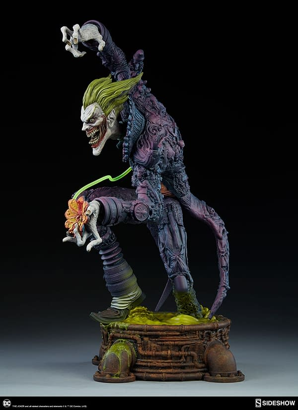 A Creepy Joker Statue is Coming From Sideshow Collectibles