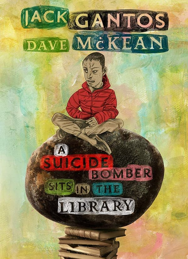 Abrams Cancels Dave McKean Suicide Bomber Comic After Concerns Expressed