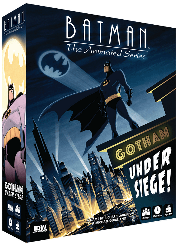 Batman: The Animated Series Returns… as a Board Game?!