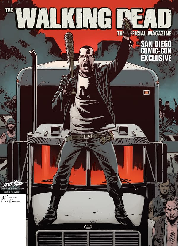 Walking Dead Magazine #9 San Diego Exclusive Cover-1