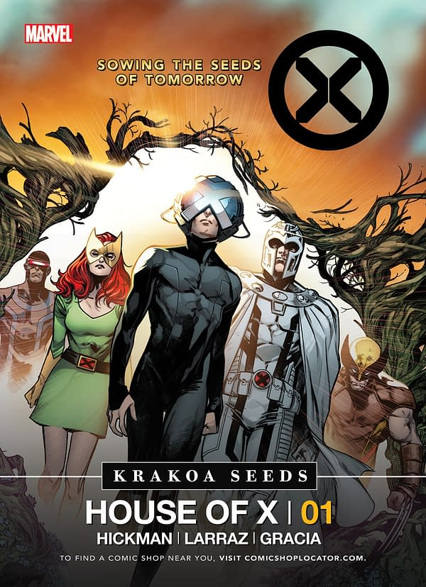 Non-US Comic Stores Will Not Get House Of X/Powers Of X Promotional Krakoa Seeds