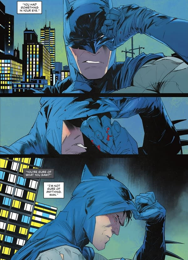 Yet Another Rando Knows Who Batman Is? (Detective Comics Spoilers)