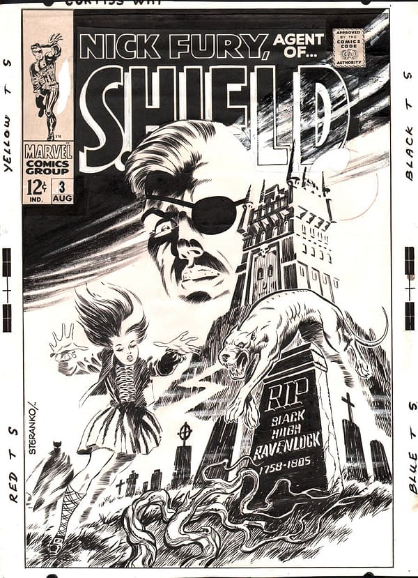 Jonathan Ross Makes A Major Silver Age Art Acquisition At SDCC