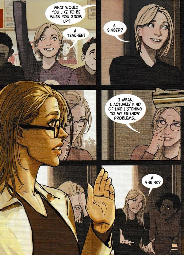 Harley Quinn's Name Revealed as an Exercise in Slut-Shaming (Harleen #1 Spoilers)