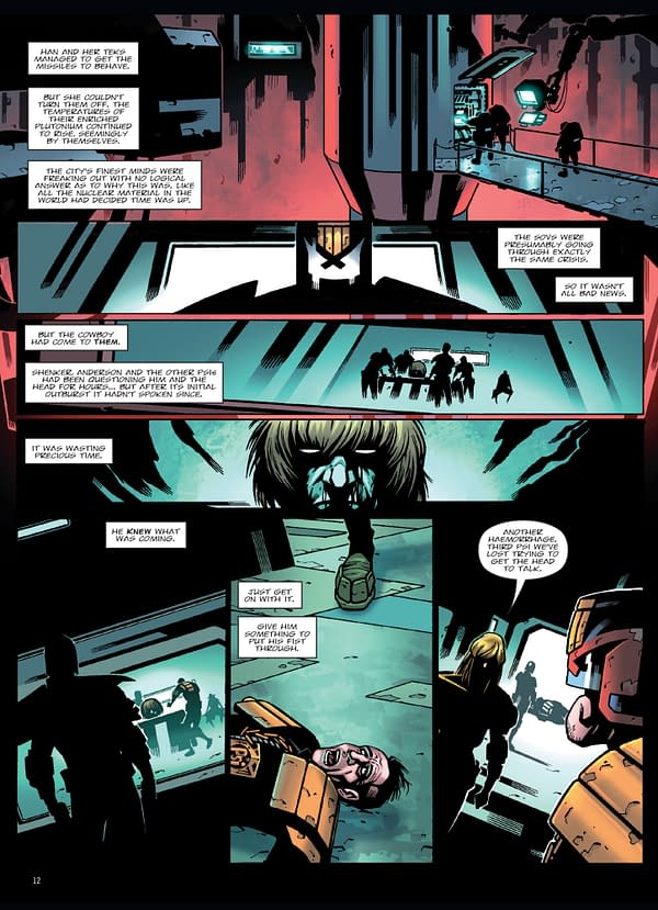 Judge Dredd: End of Days: 2000AD Previews Apocalyptic Graphic Novel