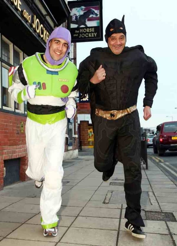 When Batman And Buzz Busted Up A Butty Brawl