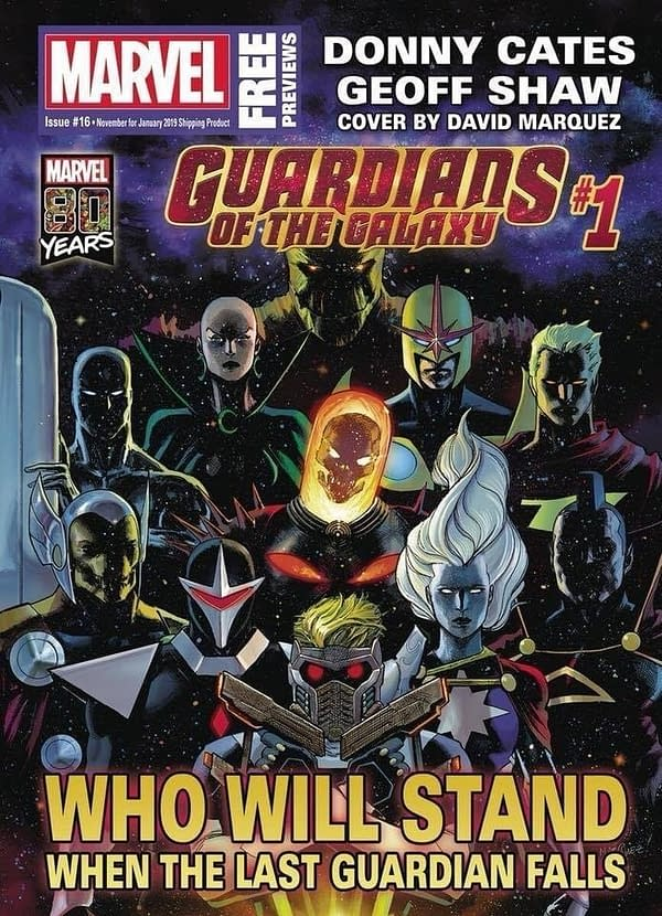 Marvel Reveals Full Lineup of Donny Cates and Geoff Shaw's Guardians of the Galaxy