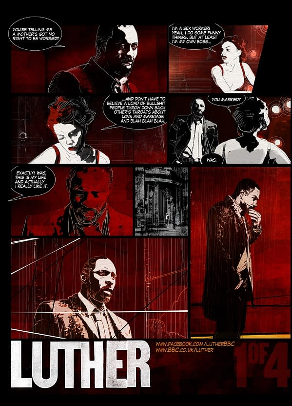 Luther: A BBC Comic Book (EXCLUSIVE)