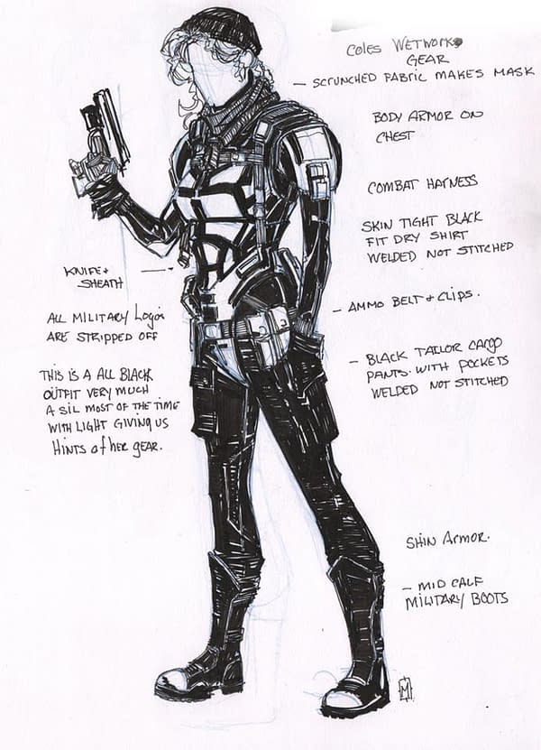 Matthew Clark's Punisher Designs That Got Missed Out