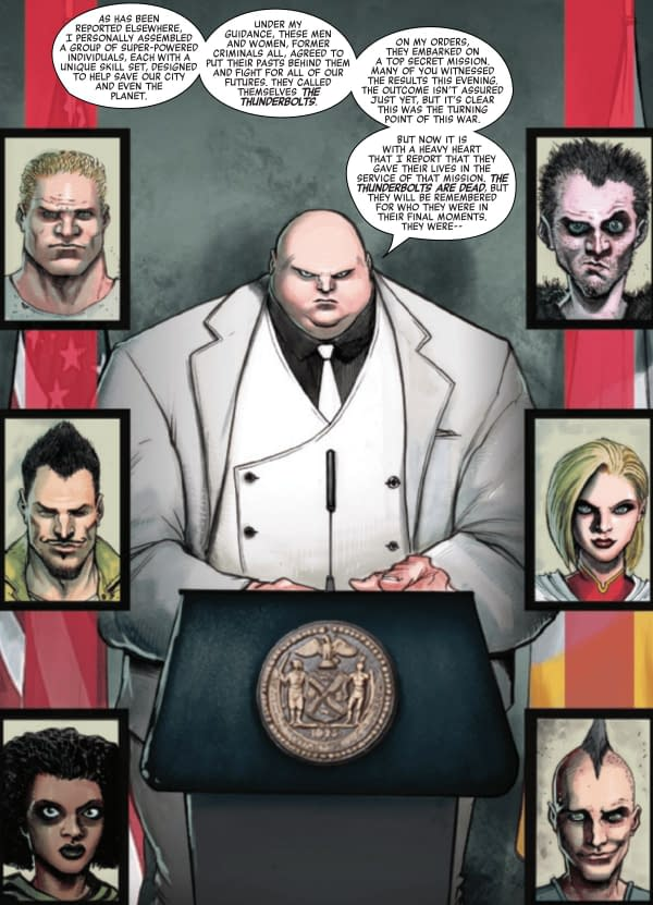 Wilson Fisk Owns The Copyright To The Thunderbolts?
